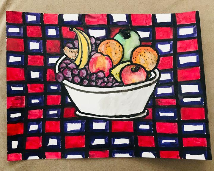 Fruit Picnic - Faith Grant