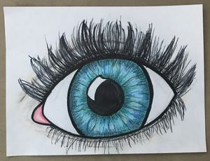 Emerald Blue Eye