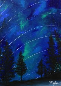Wish Upon A Star - Galaxy Painting