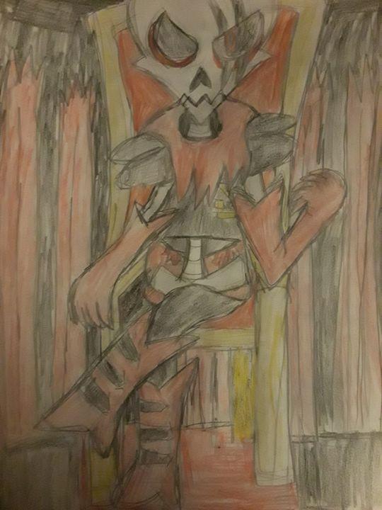Underfell Papyrus - Fanart Gallery