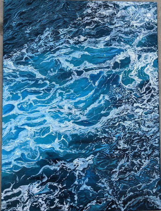 water - my painted musings