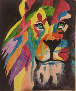 Be Bold/ Canvas Acrylic painting