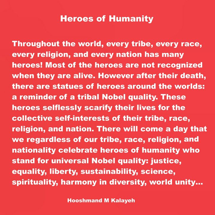 Heroes of Humanity - Universal Voice