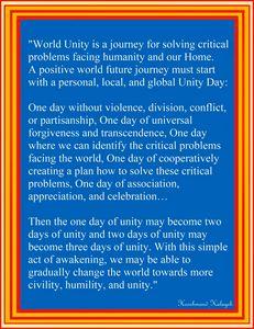 World Unity Day