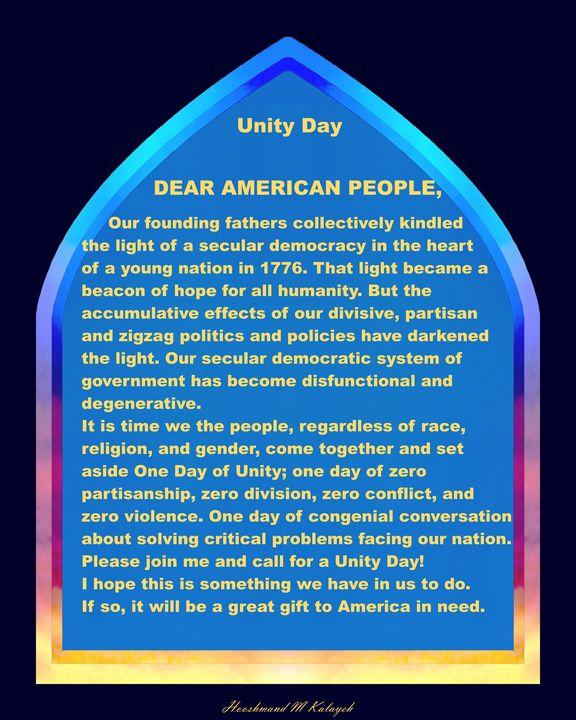 Unity Day - Universal Voice