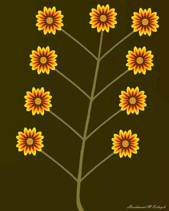 Splendor of Sunflowers - Universal Voice