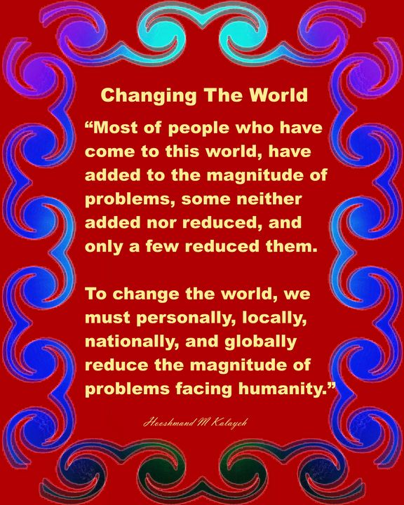 Changing The World - Universal Voice