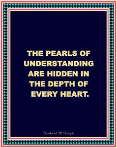 The Pearls of Understanding