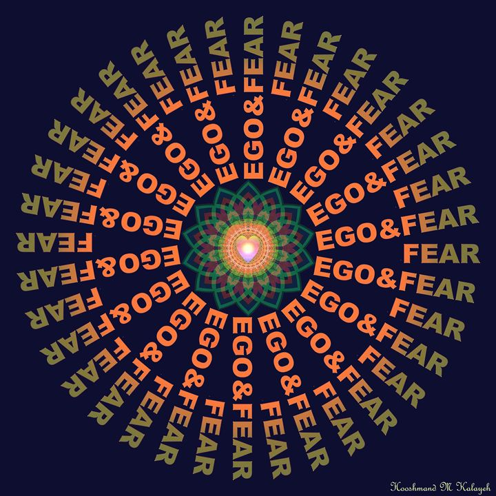 Love, ego and fear - Universal Voice