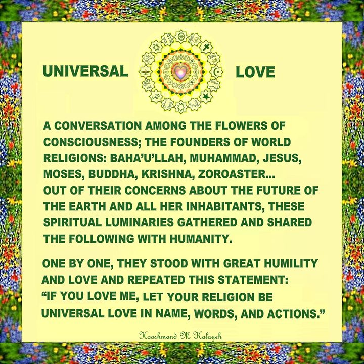 the Flowers of Consciousness - Universal Voice