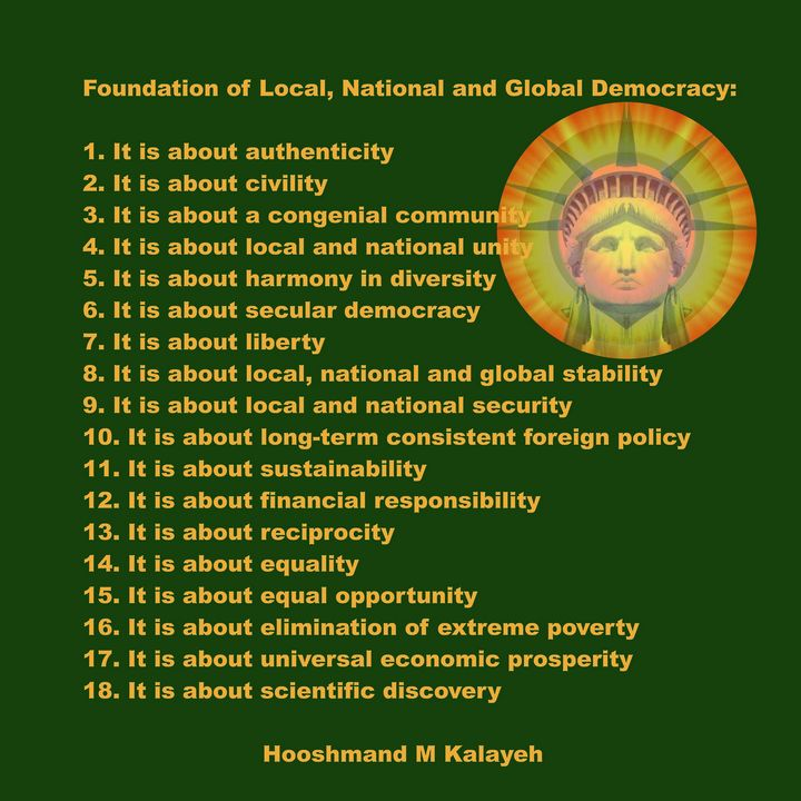 Foundation of Democracy - Universal Voice