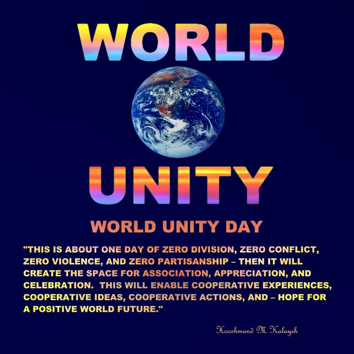 World Unity Day - Universal Voice