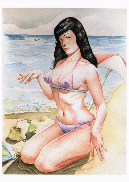 Bettie Page 1 - Wag
