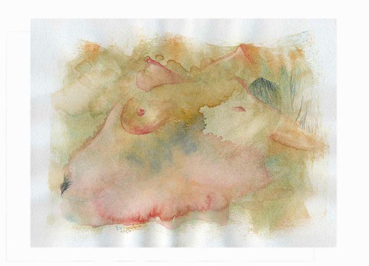 Woman nude 1 - Wag