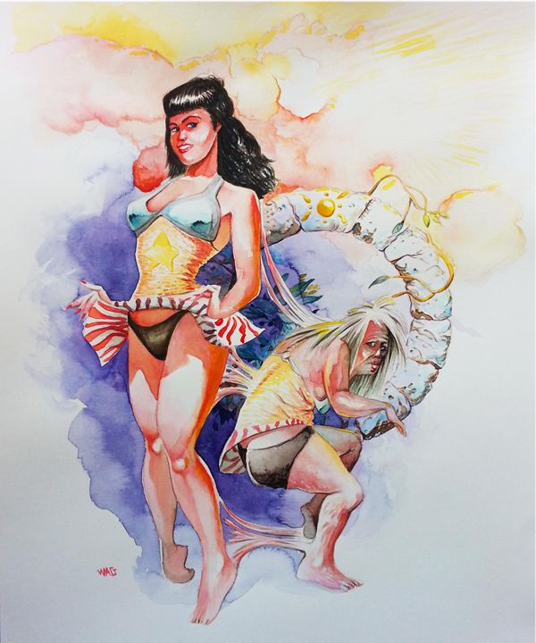 Bettie Page 2 - Wag