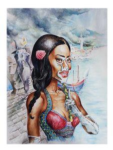 Winnie Harlow-Carnival 1