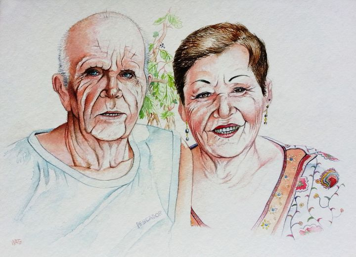 old couple - Wag
