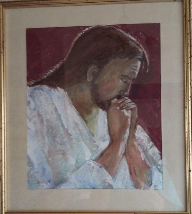Contemplation - Jo Cain Original Art