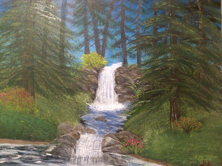 pine river falls - Donna Norgel