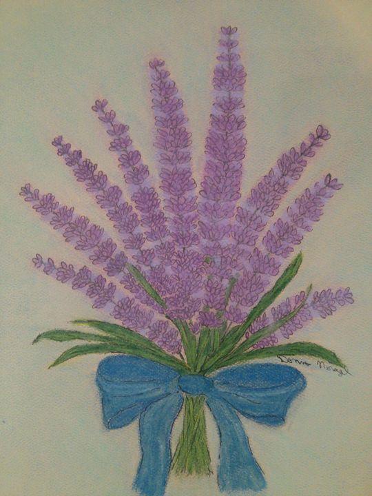 lavender love - Donna Norgel
