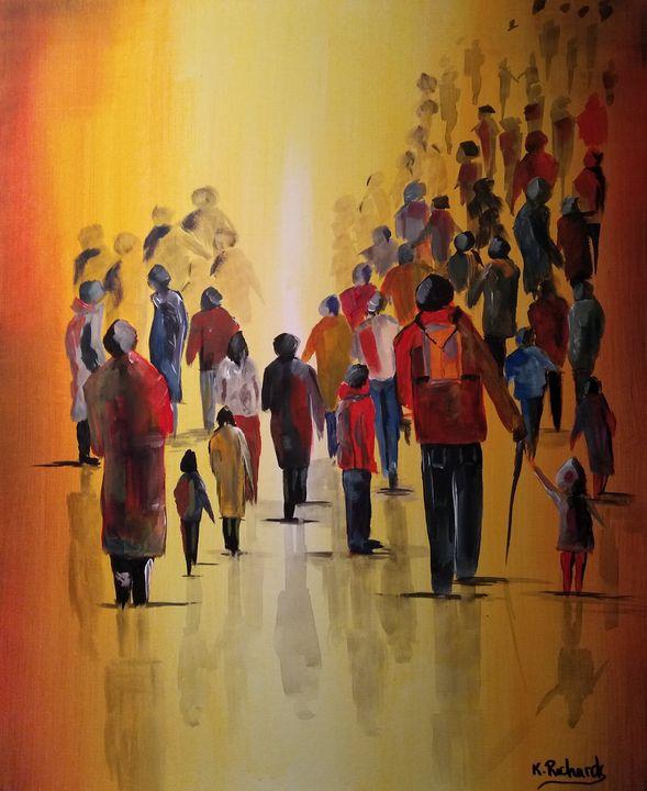 LETS WALK - Kevin Richards
