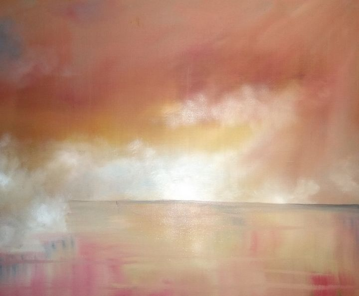 Golden Lake Mist - Kevin Richards