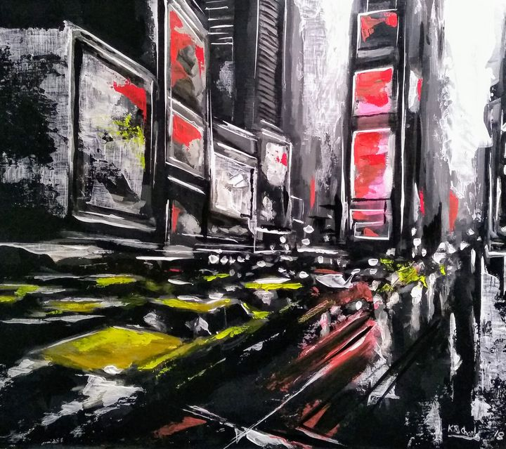 Taxi Street - Kevin Richards