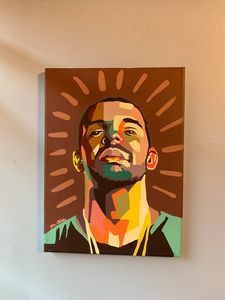 Drake Hand Painted Art
