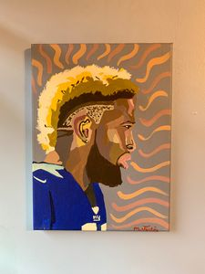 OBJ Hand Painted Art