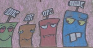 Grafitti chracters