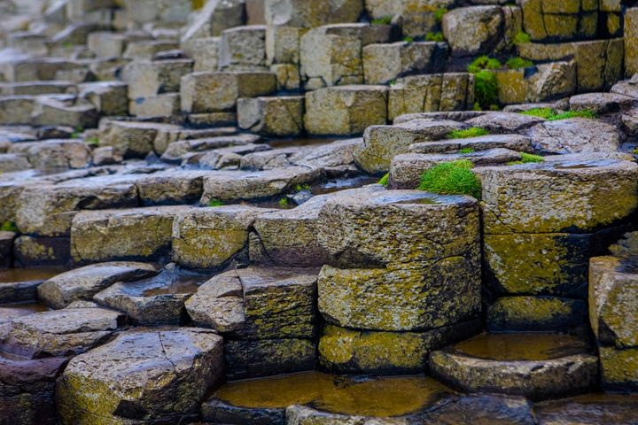 Basalt Columns at Giants Causeway - debchePhotography