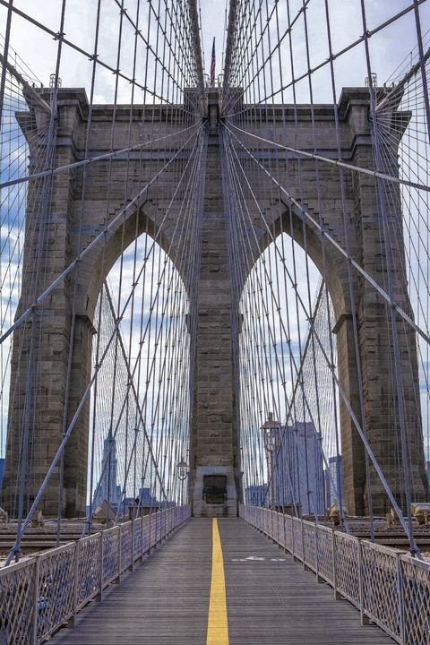 Arches of The Brooklyn Bridge - debchePhotography