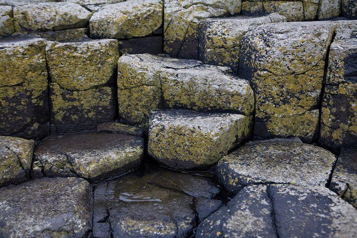 Basalt Columns at Giants Causeway - debchePhotography