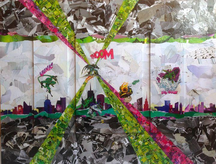 Green Villains - Paul Zigfrist Gallery