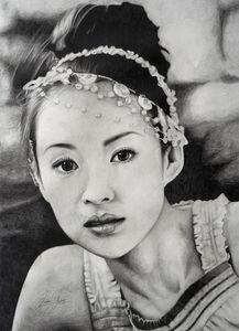 Zhang Ziyi Print