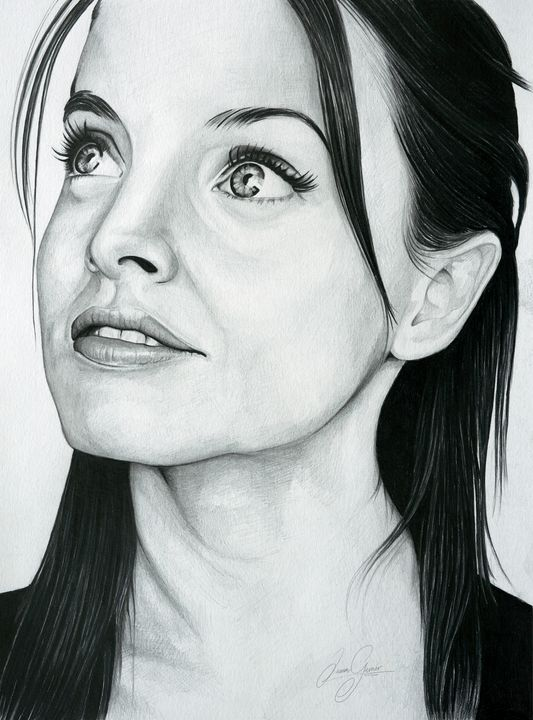 Mena Suvari Print - James Garner Portraits and Illustration