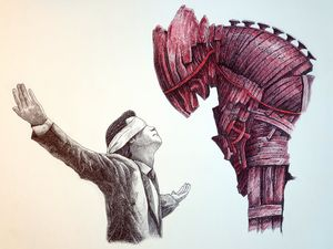The Arrival of the Red Trojan