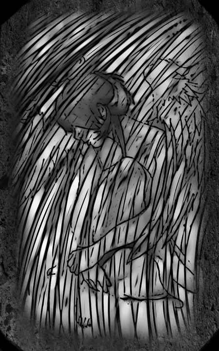 Hidden Angel - Brooklyn_Belle_Art Originals