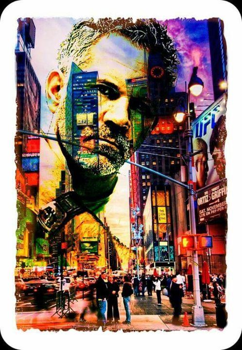 Silver Fox City - Brooklyn_Belle_Art Originals