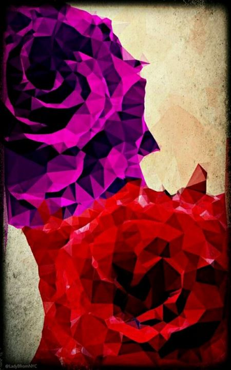 Polygon Violet Rose - Lady B Originals