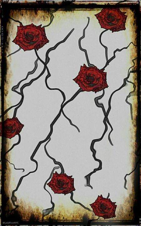 Roses on Wires - Lady B Originals