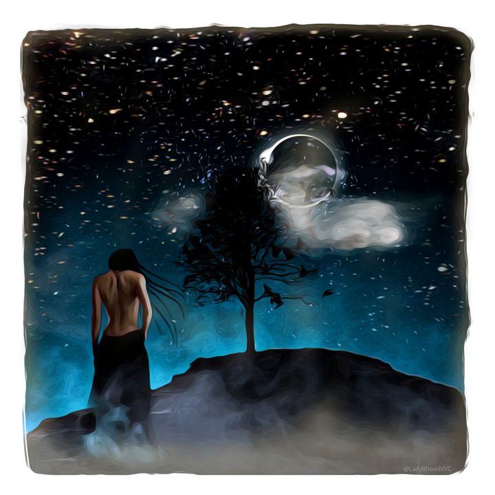 Moonlight Stroll - Brooklyn_Belle_Art Originals