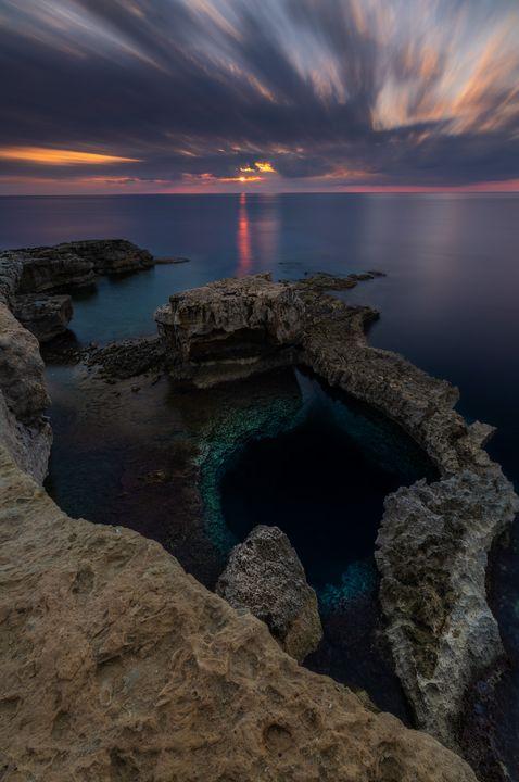 Blue hole - Martin Galea photography