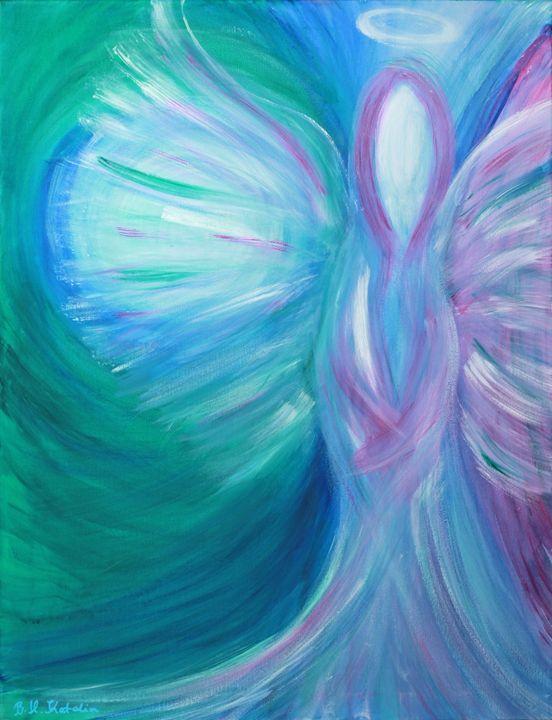 Angel of Healing communication - Tulipheart creations by Katalin Bátor-Hős