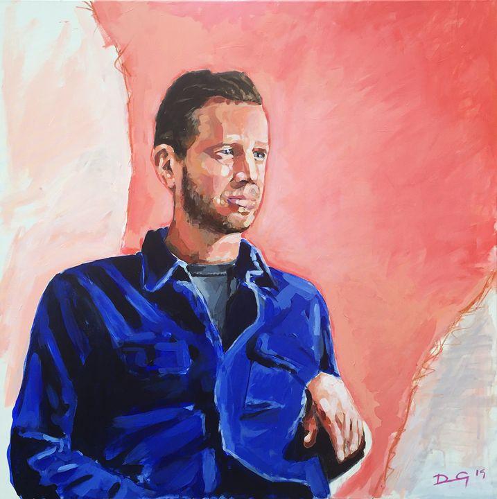 SELF PORTRAIT - 2015 - Duncan Gaman