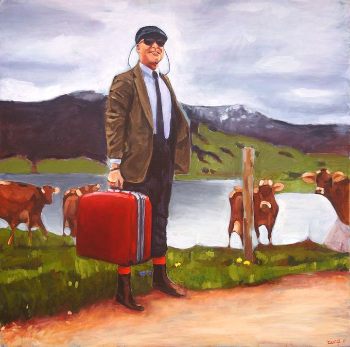 THE COWS - Duncan Gaman