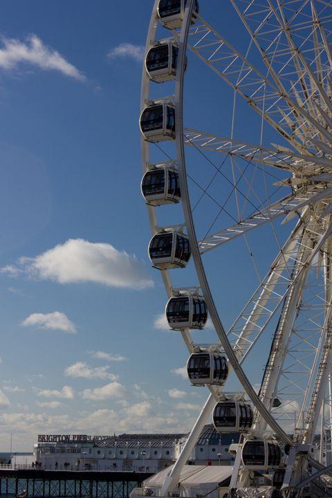 The Brighton Wheel - J Ward Photography