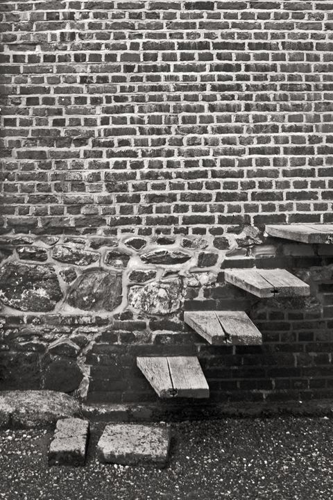 Steps in the wall - J Ward Photography