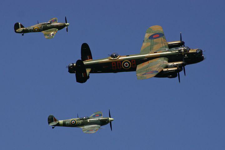 BBMF over RAF Kenley - J Ward Photography