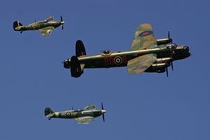 BBMF over RAF Kenley